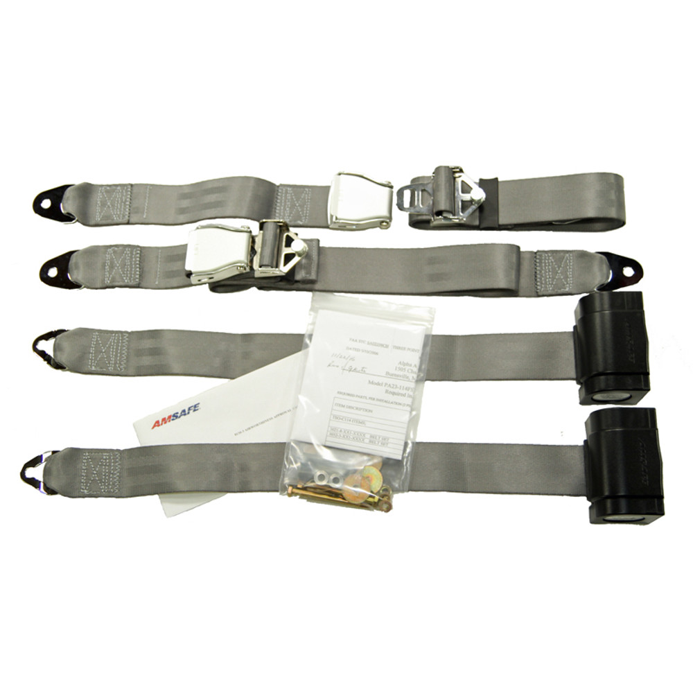 Piper PA23 Inertial Reel STC Kit