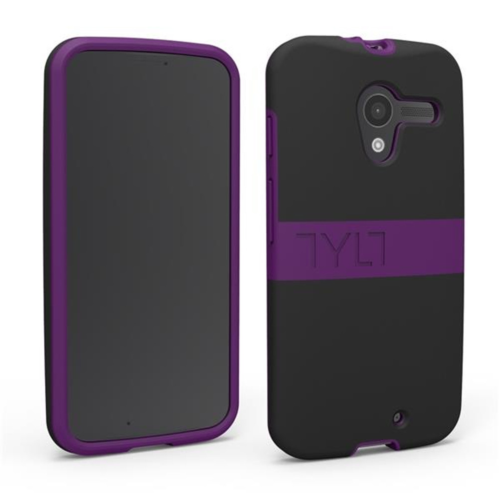 TYLT BAND for Moto X - Black / Purple