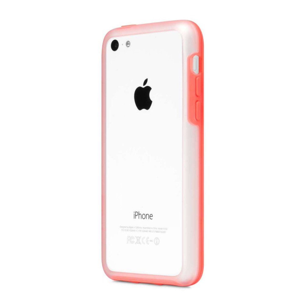 Incase Frame Case for iPhone 5C - Clear / Matte Pink - outfitYOURS.com