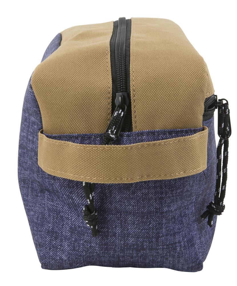 Hex Dopp Kit - Khaki / Denim