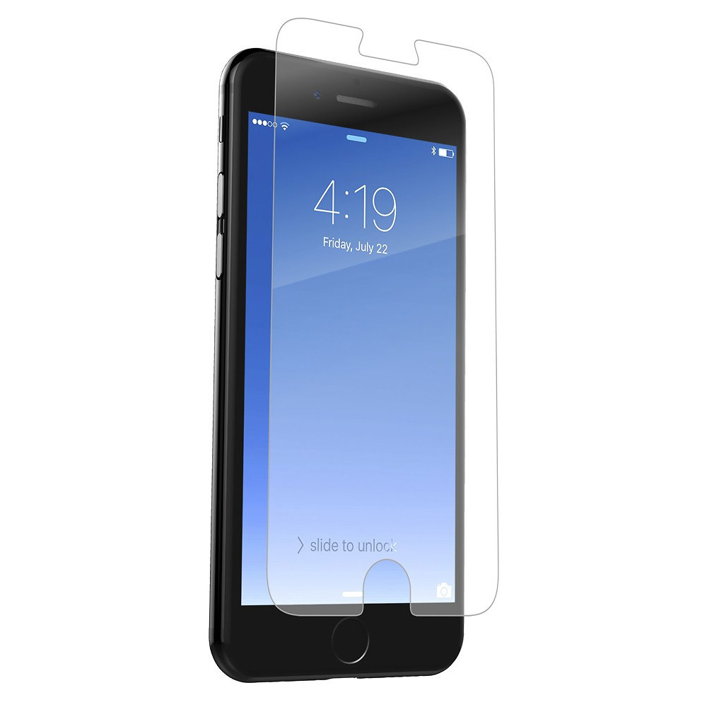 Zagg Invisibleshield Saphire Glass Defense Screen Protector for iPhone 7 Plus / 6S Plus / 6 Plus Case Friendly