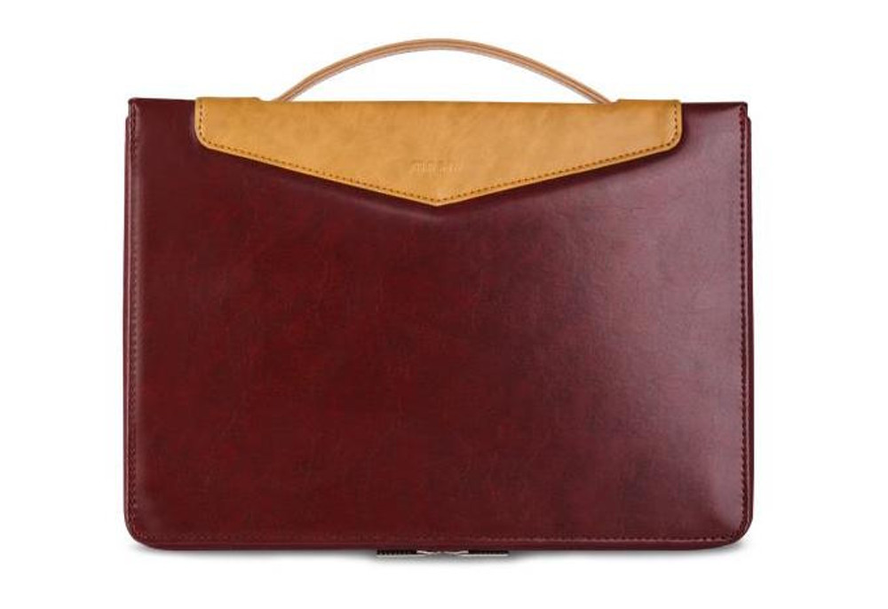 """Moshi Codex for 15"""" MacBook Pro with Touchbar Late 2016 - Burgundy Red"""