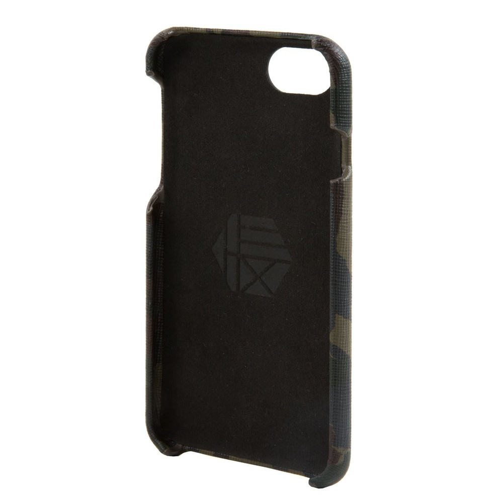 Hex Solo Wallet Case for iPhone 7 - Camo Leather Reflective