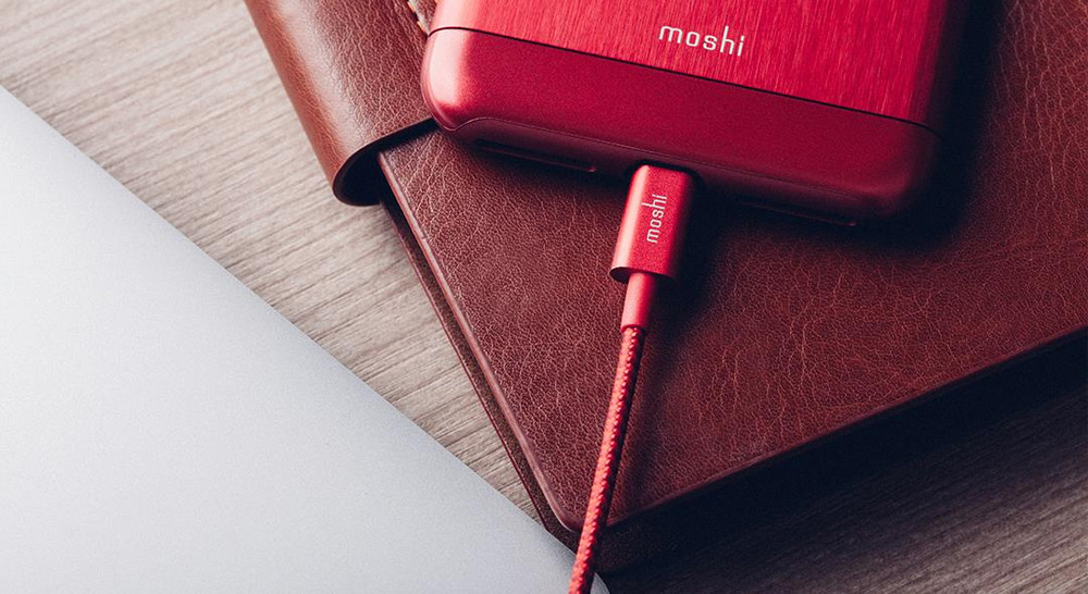 Moshi Integra USB Cable with Lightning Connector - Red