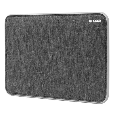 Incase Icon Sleeve with TENSAERLITE for 12 Inch MacBook with Retina - Heather Black / Gray