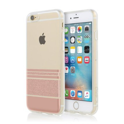Incipio Stripes Design Series for iPhone 6S Plus / 6 Plus - Rose Gold