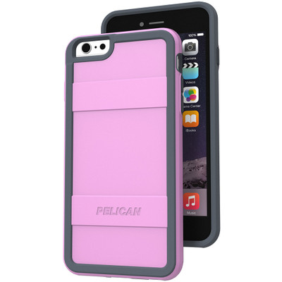 Pelican Protector Case for iPhone 6S Plus / 6 Plus - Pink / Gray