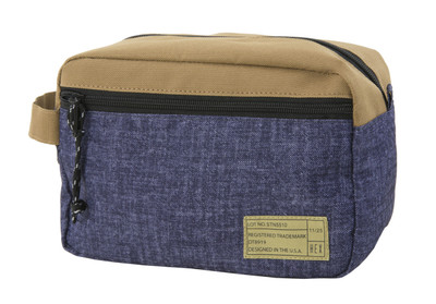 Hex Dopp Kit - Khaki / Denim