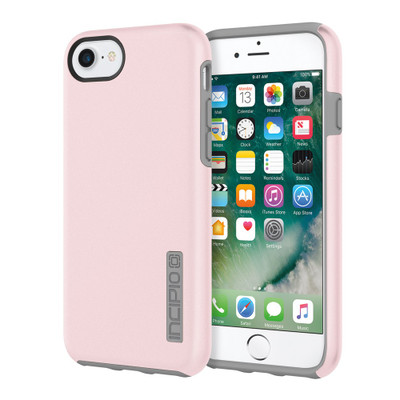 Incipio DualPro for iPhone 7 Plus - Iridescent Rose Quartz / Gray