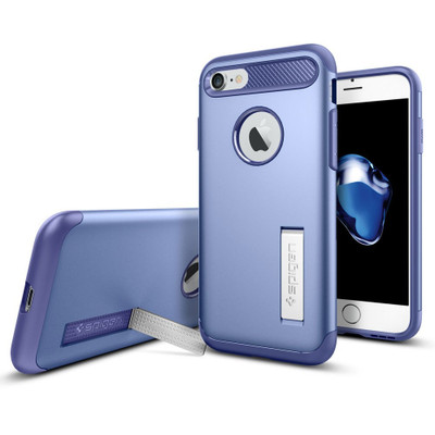 Spigen Slim Armor Case for iPhone 7 - Violet
