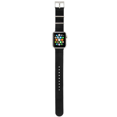 Incase Nylon Nato Band for Apple Watch 38mm - Black
