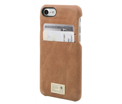 Hex Solo Wallet for iPhone 7 Plus - Brown