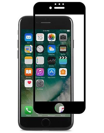 Moshi iVisor AG Anti Glare Screen Protector for iPhone 7 Plus - Black