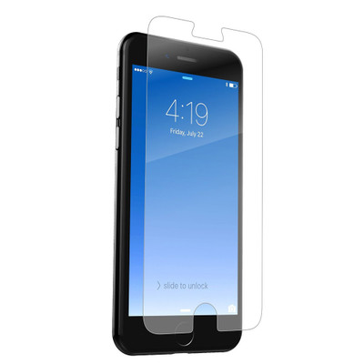 Zagg Invisibleshield Glass Defense Screen Protectors for iPhone 7 Plus / 6S Plus / 6 Plus Case Friendly - Clear