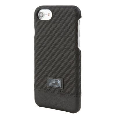 Hex Focus Case for iPhone 7 - Black Carbon Fiber