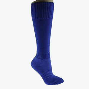 Lian LifeStyle Plain Color Knee High Cotton Sports Socks for Youth Unisex