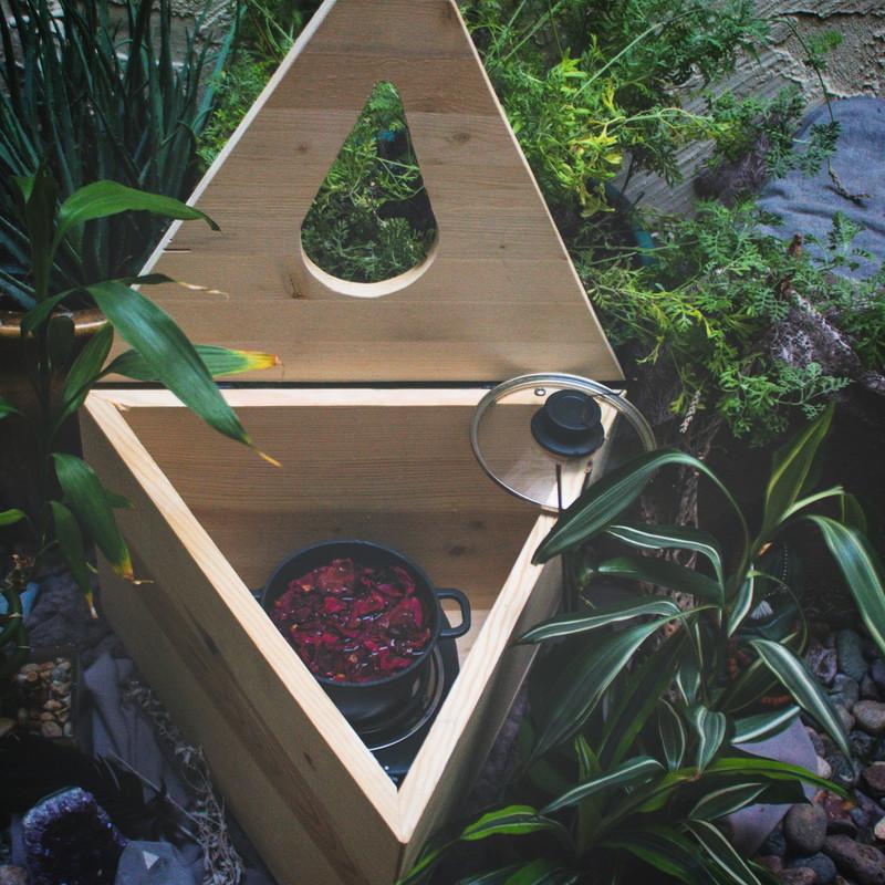 Divine Feminine Triangle Sauna