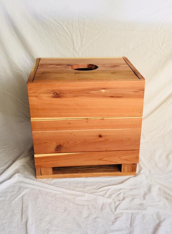 Charlotte Cedar Yoni Sauna