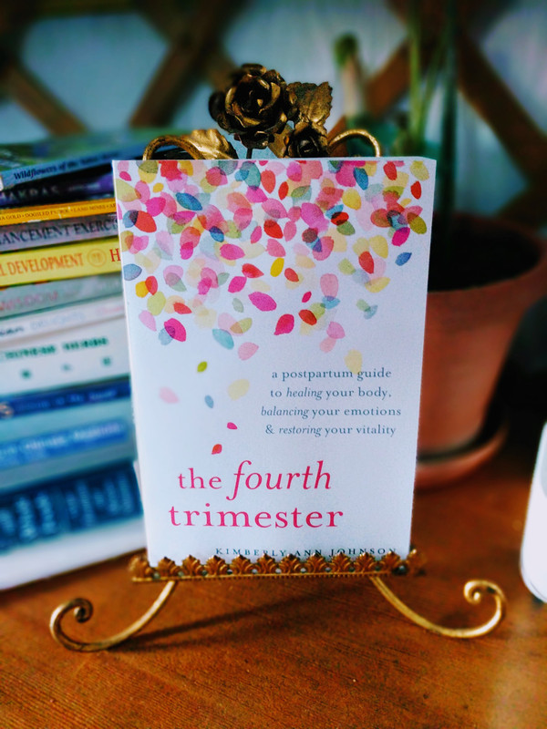 New Book Release -- The Fourth Trimester by Kimberly Johnson Mentions Benefits of Vaginal Steaming for Postpartum Healing