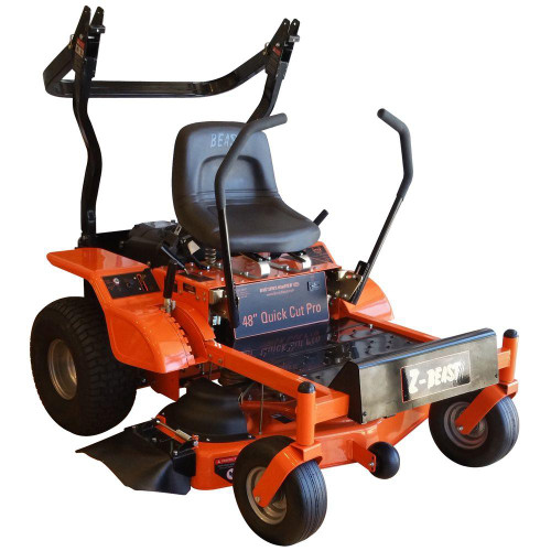 Beast Z-Beast Series 20HP Heavy Duty 48 in. Zero Turn Riding Mower with Rollbar Powered by Briggs & Stratton Pro Series Engine -- New