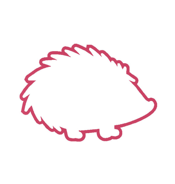 Hedgehog Decal