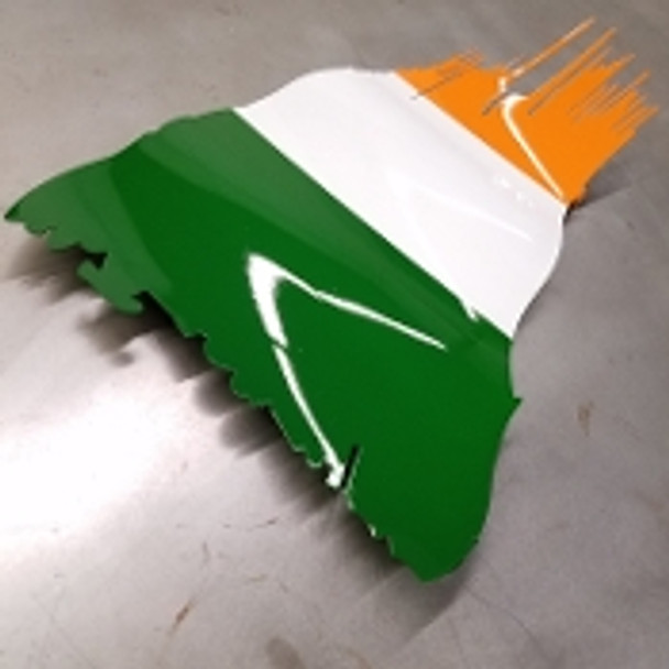"Ireland Battle Worn Flag 15"" x 9"""