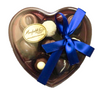 Heart Box Clear Lid 8 chocolates $19.50