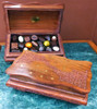 Timber Carved Trick Lock Box - 20pc $89.00