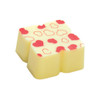 PURE WHITE LOVE White chocolate with red hearts
