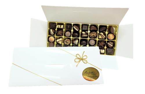 White gift box - 32 chocolates $62.50