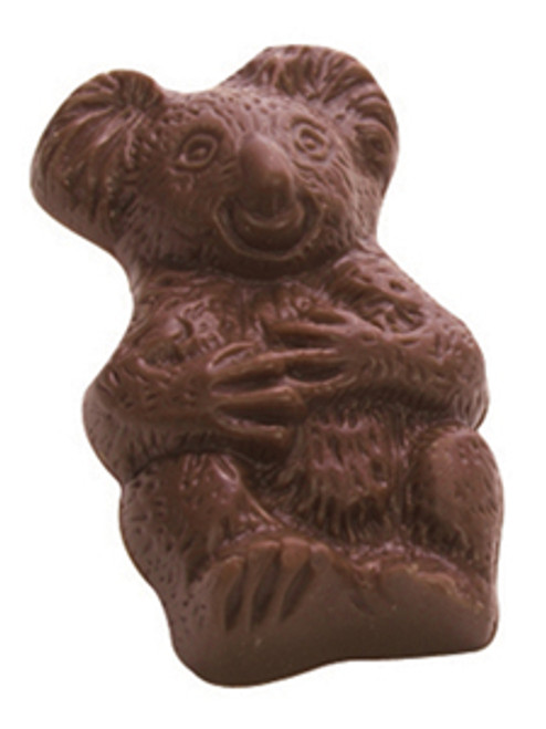 Kangaroo & Koala (pair) - soft buttery caramel in milk chocolate $4.00/pr