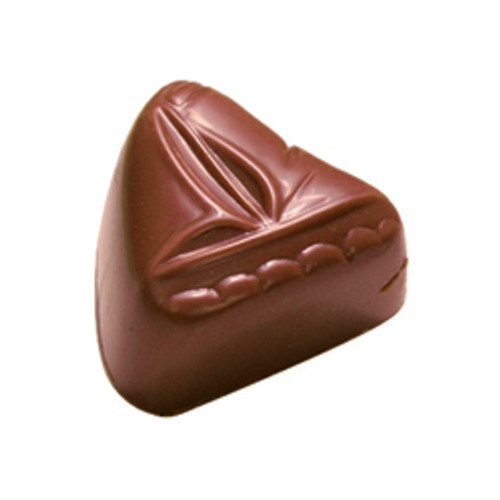 SAILING TROPICALE Queensland pineapple ganache in milk chocolate sailboat