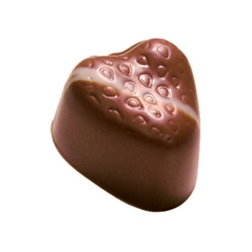 STRAWBERRY FIELDS Strawberry ganache in milk chocolate