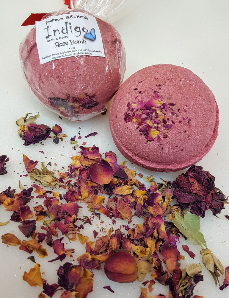 Shea Butter Bath Bombs -BB- Rose Bomb (Valentine)