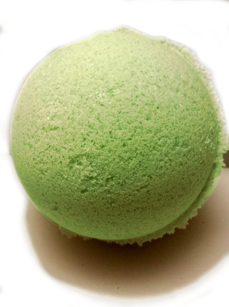 Shea Butter Bath Bombs - Ginger Lime