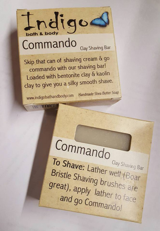 Commando (Clay Shaving Soap)