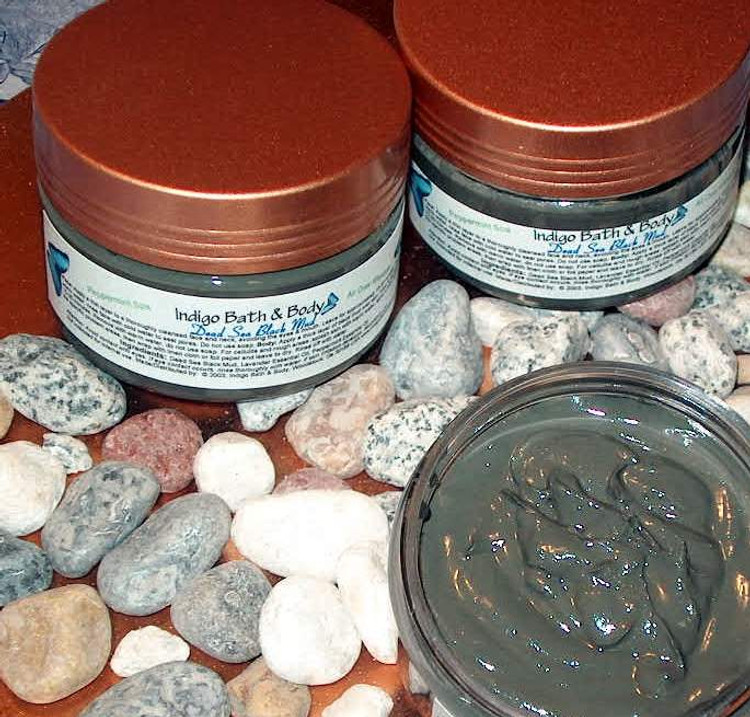 Dead Sea Black Mud - All Over Masque