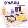 Yamaha YAC-1657P Baritone Saxophone Mouthpiece Cap; Lacquered Brass