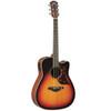 Yamaha A3MVS Acoustic-Electric Guitar; Vintage Sunburst; with Hard-Shell Case