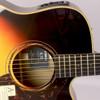 Yamaha A3RVS Acoustic-Electric Guitar; Vintage Sunburst; with Hard-Shell Case