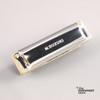 Suzuki Manji M-20 Professional Diatonic 10-Hole Blues Harmonica, Key of B