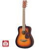 Yamaha JR2 3/4 Size Acoustic Guitar with Gig Bag; Tobacco Sunburst