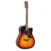 Yamaha A1MVSHC Acoustic-Electric Guitar with Case; Vintage Sunburst