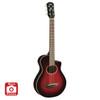 Yamaha APXT2DRB Acoustic-Electric Guitar; Dark Red Burst; 3/4 Size