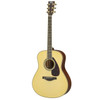 Yamaha LL16MHC Handcrafted Acoustic Guitar with Hard-Shell Case