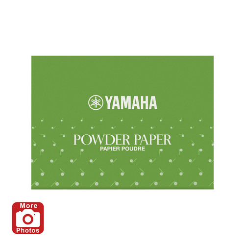 Yamaha YAC-1112P Powdered Pad Paper; 50 Sheets/pack