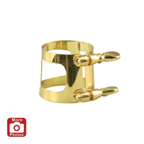 Yamaha YAC-1613P Tenor Saxophone Ligature; Gold Lacquer