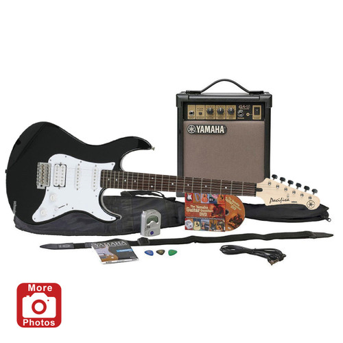 Yamaha GIGMAKER EG-BLACK Electric Guitar Package; Black