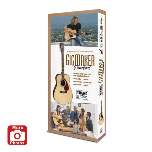 Yamaha GIGMAKER STD Standard Acoustic Guitar Pack
