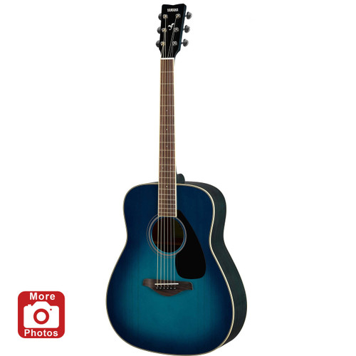 Yamaha FG820SB Acoustic Guitar; Sunset Blue